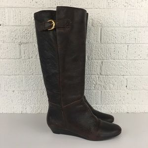 Steven by Steve Madden Intyce brown boots